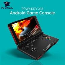 Powkiddy X18 Andriod 휴대용 게임 콘솔 5.5 인치 1280*720 화면 MTK 8163 쿼드 코어 2G RAM 32G ROM 비디오 휴대용 게임 플레이어
