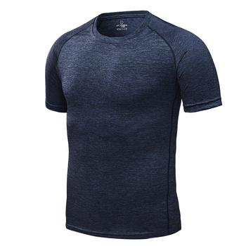 Szybka kompresja na sucho t-shirty sportowe męskie koszulki do biegania Fitness Gym koszulki do biegania koszulki piłkarskie męska koszulka sportowa tanie i dobre opinie VECTOR Wiosna summer AUTUMN spandex Pasuje prawda na wymiar weź swój normalny rozmiar