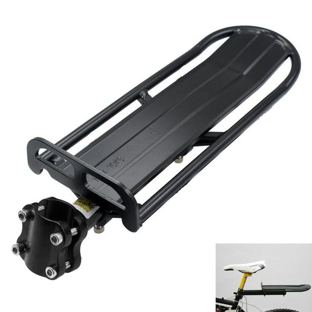 Bike Bicycle Rack Aluminum Alloy Adjustable Rear Seat Luggage Bike Rack Bracket
