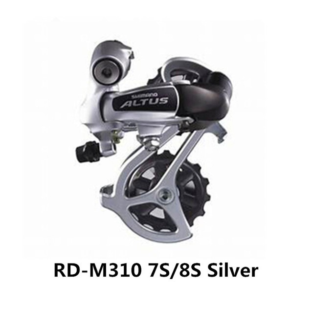 SHIMANO Altus Front Derailleur FD-M310 /& Rear Derailleur RD-M310 7//8S Black