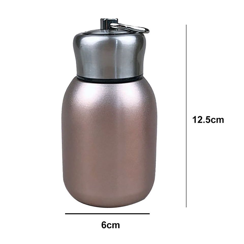 300ml Sports Water Bottle Insulated Cup Vacuum Flask Milk Bottle 12 Colors