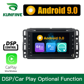 Android 9.0 Octa Core 4GB RAM 64GB ROM Car DVD GPS Multimedia Player Car Stereo for GMC Yukon Tahoe 2007- 2012 Full touch Radio