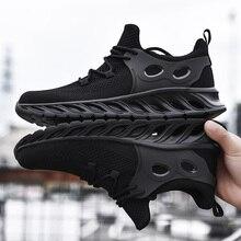 Мужские кроссовки для бега, спортивная обувь, дышащие, большие размеры 39-46, уличная прогулочная обувь, светильник, спортивная обувь для бега