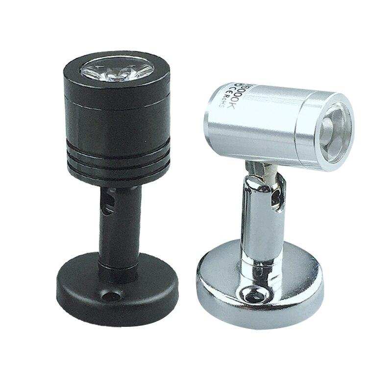 1W 3W LED Spotlights Mini Led Ceiling Down Lights  85-265V DC12V 24V Surface Mounted Light Bulbs For Cabinet Counter Showcase