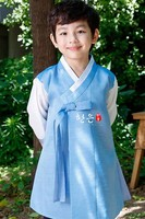 South Korea Imported Fabric Boy Birthday Korean Clothing/upscale Children's New Korean Clothing Fashion Coat Full Boys