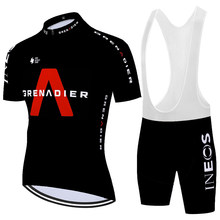 2020 laser cut ineos grenadier cycling Jersey Summer bike shorts Set Breathable Racing Bicycle uniformes de ciclismo para hombre