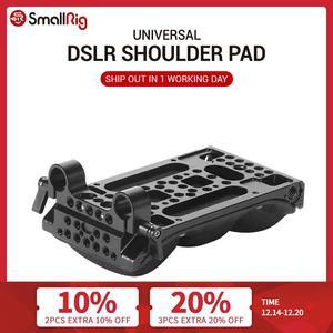 Image 1 - SmallRig DSLR Universal Shoulder Pad with 15mm RailBlock Memory Foam Light Weight Camera Shoulder Kit 2077