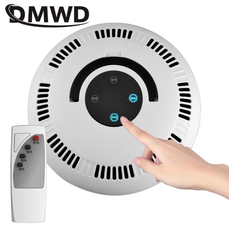 DMWD 2000 Вт домашний электрический обогреватель, Круглый Вентилятор с горячим ветром, регулируемый термостат с дистанционным управлением, обо...
