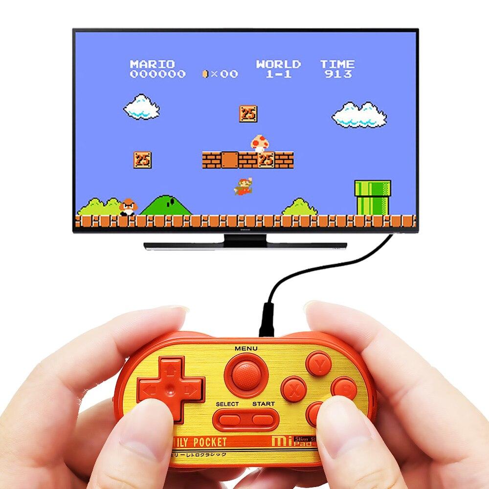 Mini Vedio Console Game Built-in 20 NES Classic Game Connectable To TV Retro Gaming Estuche Consol Portatil Handheld Game Player