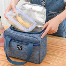 Lunch Bag Insulated Lunch Box Soft Cooler Bag Lancheira Waterproof Thermal Work School Picnic Food Storage Bags Bolsa Termica