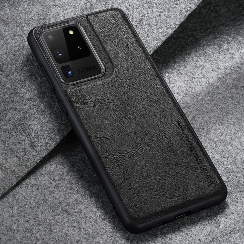 Business Soft Leather Case For Samsung S9 Plus S10 S10e Note9 Men Women Luxury Silicone Cover For Galaxy S20 Ultra Coque