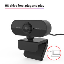 2021 720P Hd Webcam Ontmoette Microfoon Draaibaar Pc Desktop Web Camera Cam Mini Computer USB2.0 Web Camera Cam Video-Opname Werk