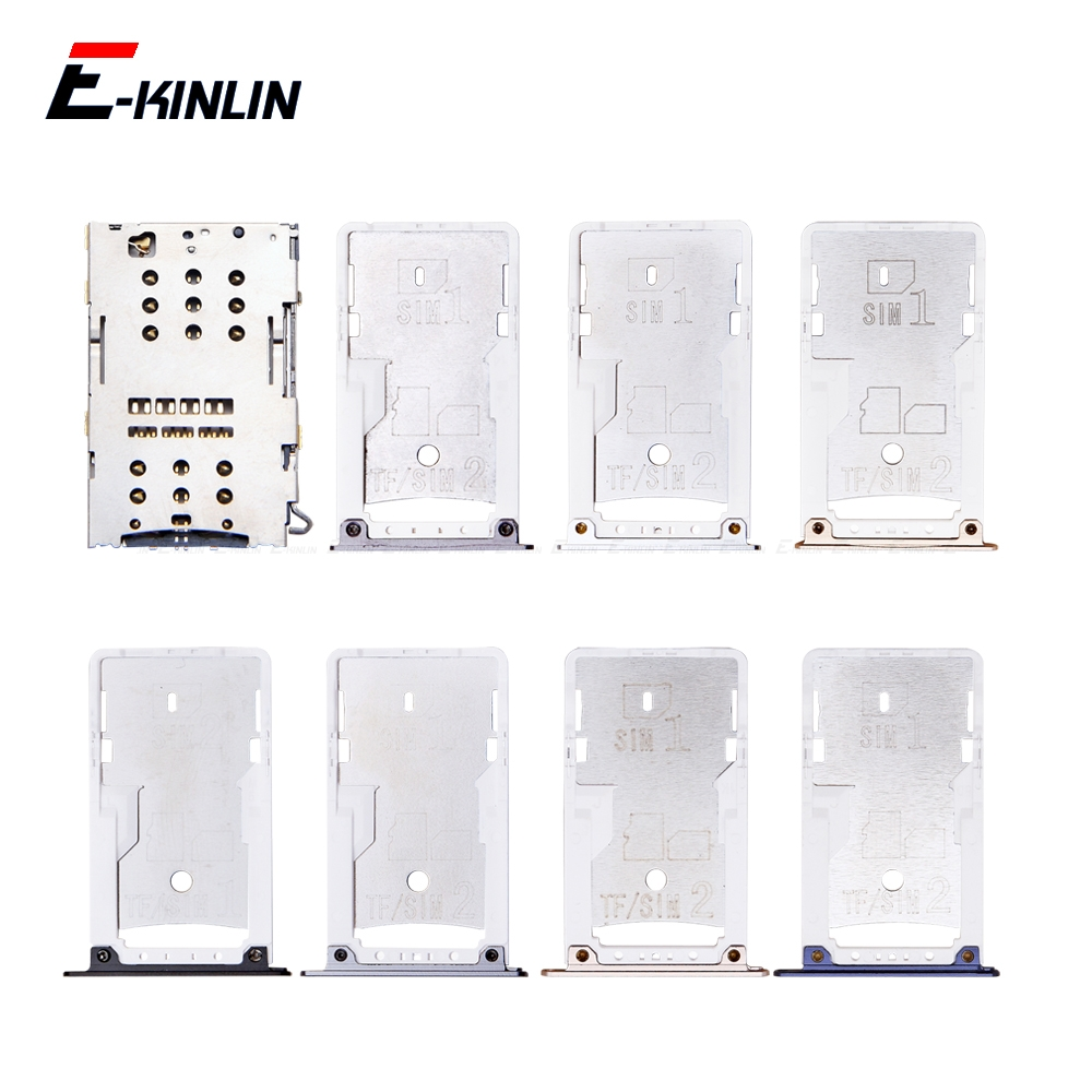 Sim Card / Micro SD Card Tray Socket Holder Slot Container Connector Adapter Reader Parts For XiaoMi Redmi 4A 4 Pro Note 4