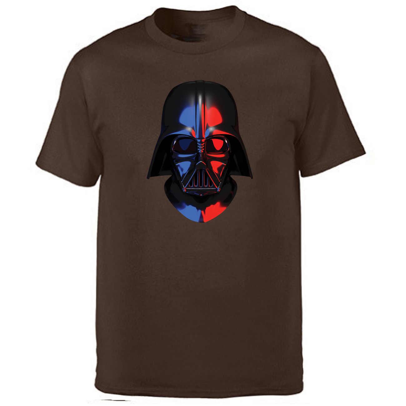 Star Wars Darth Vader camiseta hombres tu padre camiseta 2019 verano Camisetas de algodón de manga corta negro de entrenamiento de impresión camisetas sueltas