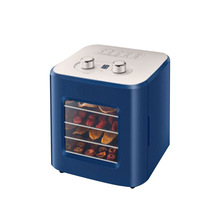 220V 4 Layers Capacity Food Dehydrator Fruit Dryer Machine Household Dried Fruit Machine Pet Snack Stainless Steel Grid