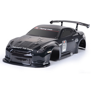 Image 1 - HSP RC Body Shell for HSP Redcat Exceed 1/10 Scale 4wd On Road Racing Drift with Stickers