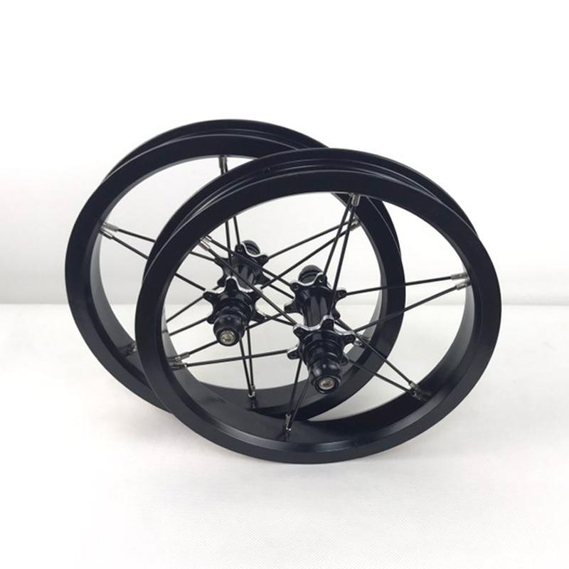 Ultra Light 12 Inch AL6061 Aluminum Wheelset for Kids Balance Bike Colorful Aluminum Alloy Wheelset for