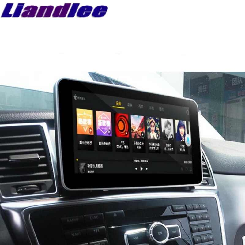 Voor Mercedes Benz Mb Gl Gls Class X166 2012 ~ 2017 Carplay Adapter Liandlee Auto Multimedia Speler Navi Radio Gps navigatie