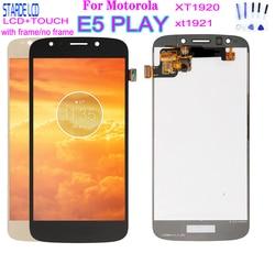 5.2'' For Motorola-Moto E5 Play LCD Display with Touch Screen Display Assembly with Frame For moto E5play XT1920 xt1921 lcd