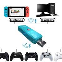 Coov N100 PLUS for PS4/Xbox One 무선 컨트롤러 변환기 어댑터-Nintendo Switch NS 유선 게임 패드 조이스틱 변환기