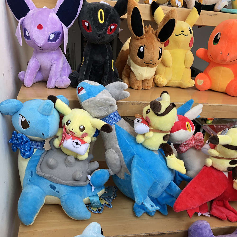 41 Styles Pikachued Charmander Bulbasaur Squirtle Pokemoned Plush Toys Eevee Snorlax Jigglypuff Stuffed Doll Christmas Kid Gift 3