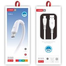 Usb кабель 1 м Usb кабель для быстрой зарядки и передачи данных 2 в 1 провод типа C кабель подходит для Huawei Xiaomi Samsung линии передачи данных