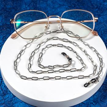 2021 1 sztuk okulary pasek łańcuszkowy okulary wiszące łańcuchy maskująca uchwyt na łańcuszek dla kobiet kreatywny akrylowe perły kryształowe tanie i dobre opinie WEALTHYBOO Brak Kobiety Moc naszyjniki CN (pochodzenie) Na co dzień sportowy Nastrój tracker Moda Acrylic eyeglasses chain