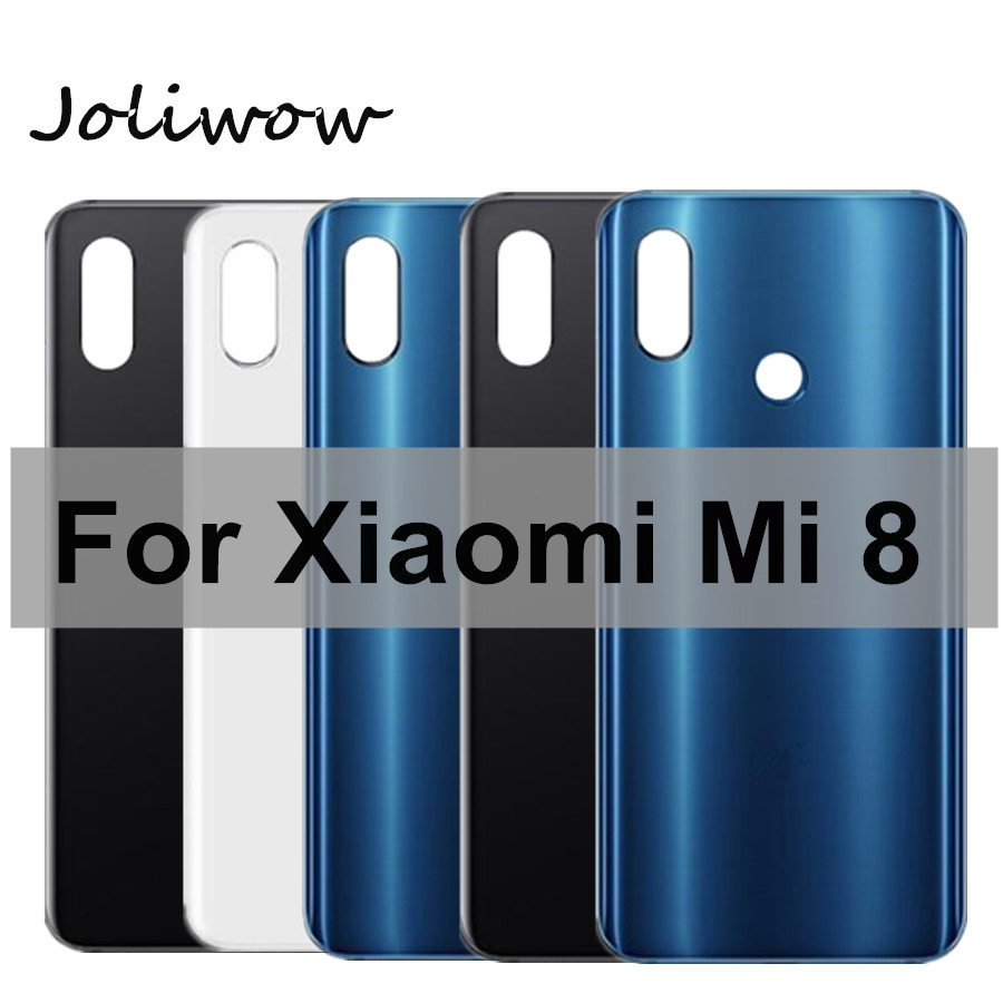 For <font><b>Xiaomi</b></font> Mi8 <font><b>Battery</b></font> <font><b>Cover</b></font> Back Glass Rear Door Housing Case For <font><b>Xiaomi</b></font> <font><b>Mi</b></font> <font><b>8</b></font> <font><b>Battery</b></font> <font><b>Cover</b></font> Replace image