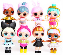 8 pieces IoI superise cute dolls toys for girls gift baby doll free shipping superise girl toy doll kids birthday gift for girls free shipping big discount rbl 299diy nude blyth doll birthday gift for girl 4colour big eyes dolls with beautiful hair cute toy