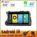 Автомобильный радиоприемник 8 дюймов DSP Carplay Android 10, стерео GPS-навигация для Ssang yong Ssangyong Actyon Kyron 4G WIFI BLUETOOTH
