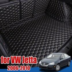 Багажнике лоток протектор для пола для Volkswagen Jetta (Фольксваген Джетта) A5 Mk5 2006-2010 Коврики для багажника коврик в багажник Bora Jetta GLI Vento Volkswagen Golf в...