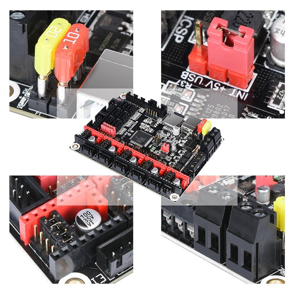BIGTREETECH SKR V1.3 32Bit carte lisse + TFT35 V3.0 + 5PC TMC2130 spi TMC2208 TMC2209 uart vs MKS GEN L pièces d'imprimante 3D - 2