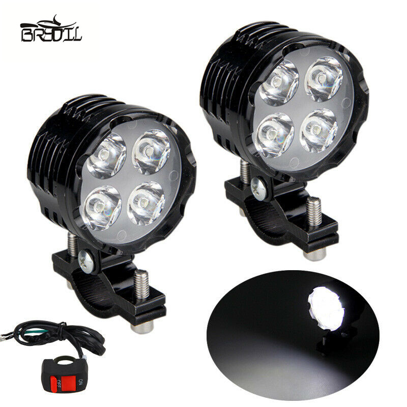 2PCS 3 Modes 40W 3000LM Led Motorcycle Bike Headlight Bulb Spot Light LED Driving Head Light Motorbike Moto Fog Driving Lamp