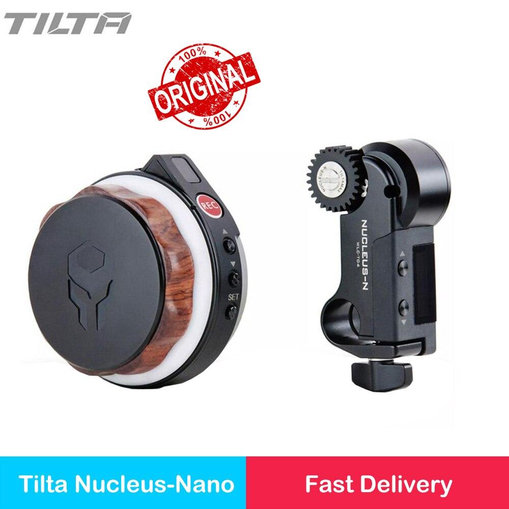 In stock Tilta Nucleus Nano Wireless Follow Focus Motor Hand Wheel Controller Lens Control System for