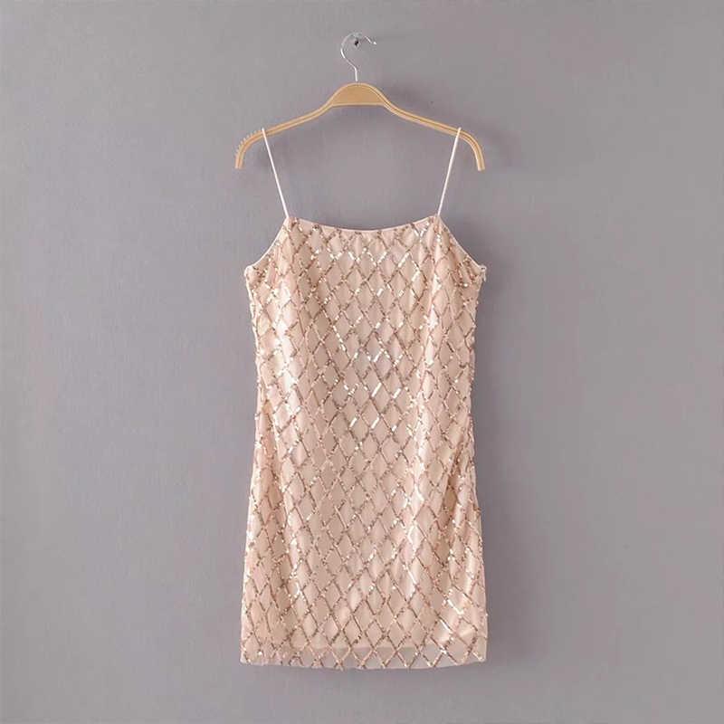 Женское летнее сексуальное платье с блестками, без рукавов, для ночного клуба, платья с блестками, одежда для ночного клуба, вечерние платья, облегающее платье, vestido de festa