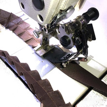 Sewing Machine Tool Lace Fold Device, Industrial Sewing Machine Single Needle Machine Parts Easy Adjustment High Efficiency Tool