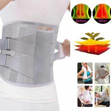 Self-heating Magnetic Steel Plates Waist Support Belt Orthopedic Tourmaline Lumb