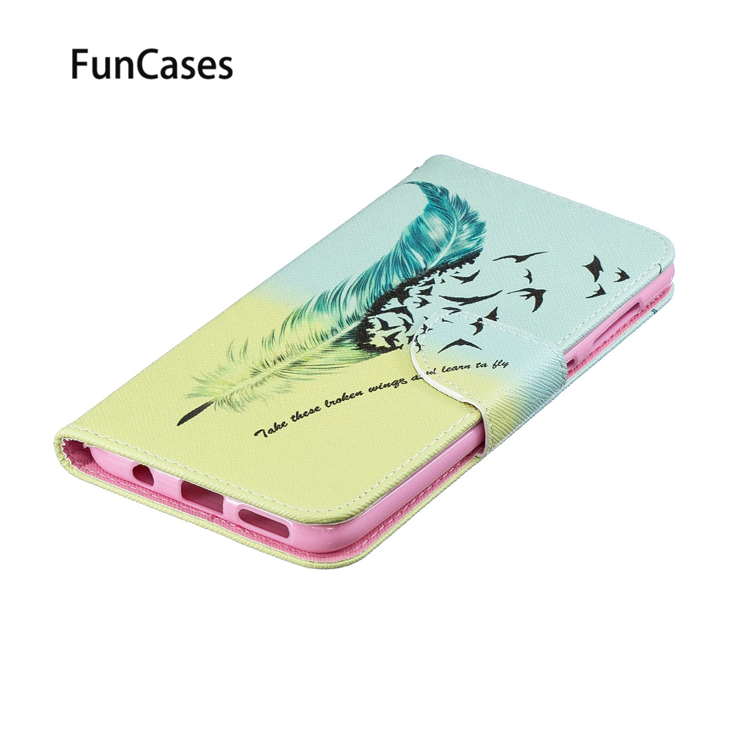 Butterfly And Flower PU Leather Phone Bag For cover <font><b>Samsung</b></font> <font><b>A50</b></font> Phone Bag Cases sFor Shell <font><b>Samsung</b></font> Galaxy <font><b>hoesje</b></font> A50S A30S Caso image