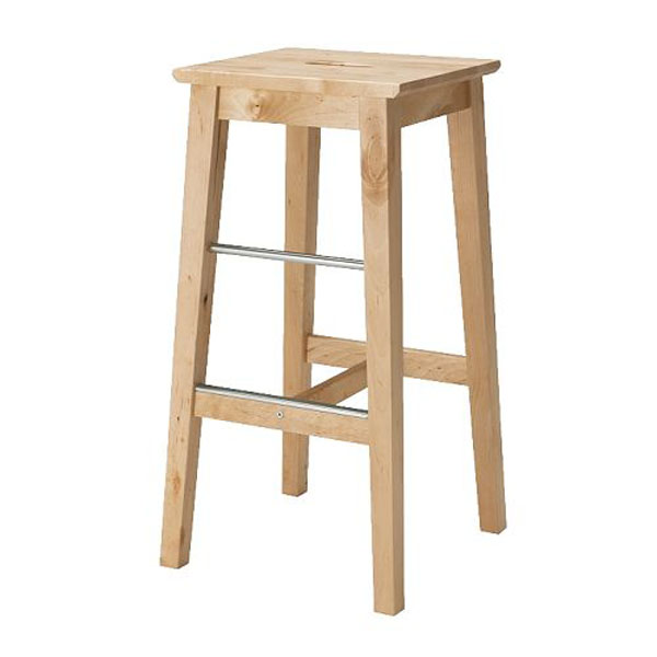 Solid Wooden Stool Bar Chair Bar Chair Bar Chair Simple Modern Bar Stool Family Front Desk High Bar Stool