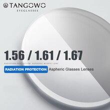 TANGOWO 1.56 1.61 1.67 (+ 12.00 ~ 12.00) reçete CR 39 reçine asferik gözlük lensler miyopi hipermetrop presbiyopi optik Lens