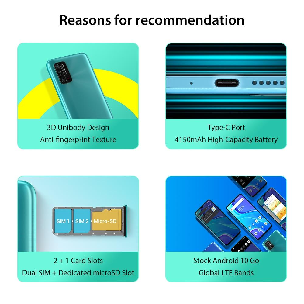 In-Stock UMIDIGI A7S Smart Phone 6.53  2