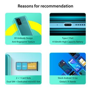 "In-Stock UMIDIGI A7S Smart Phone 6.53"" Screen 32GB 4150mAh Triple Camera Global Version Cellphone Infrared Temperature Sensor 2"