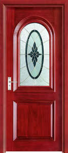 Doors Solid Interior-Door-Available Custom with Stain HA-004 Oak Contemporary Traditional