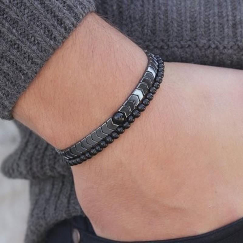 H1e16506920724288bb63306433818134F - Luxury  Stone Bracelet