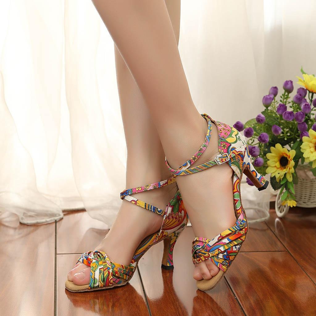 casual flat Women's High-Heeled Dance Shoes