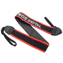 Mayitr 1pc Camera Adjustable Shoulder Neck Belt Nylon Leather Strap Suitable For Canon EOS 60D Mark III Cameras 64x3.8cm