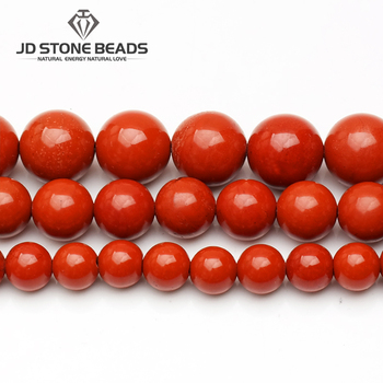 Free Shipping Natural Red Jasper Beads 3-12mm Semi-Finished Handmade DIY Bracelet Accessories gemstone For Jewelry Making