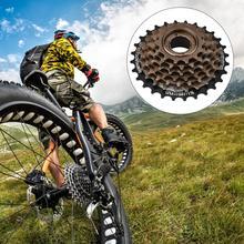 цена на MTB Mountain Sports Road Bike Freewheel Bicycle Flywheel Cog Cassette Metal Thread Sprocket Cycling Parts Accessories