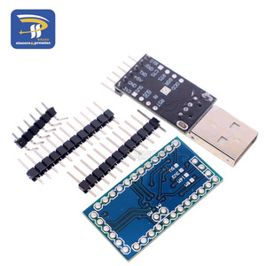 Image 2 - 1PCS 6pin CP2102 USB 2.0 כדי TTL UART מודול + 1PCS פרו מיני מודול Atmega328 5V 16M לarduino תואם עם ננו
