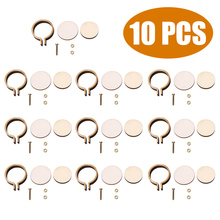 10 pcs/set New Arrival Mini Embroidery Hoop Ring Wooden Cross Stitch